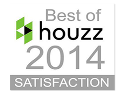 Best of Houzz 2014 - Client Satisfaction This professional was rated at the highest level for client satisfaction by the Houzz community. Awarded on January 30, 2014